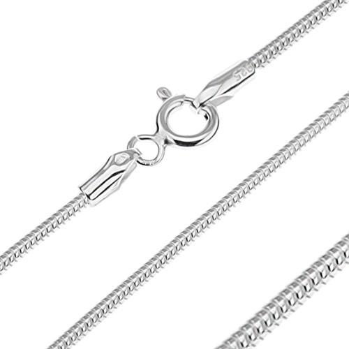 Bijuterii eshop - Lănțișor argint - șarpe segmentat, 1,4 mm AA11.04