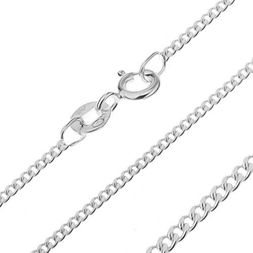 Bijuterii eshop - Lănțișor realizat din argint 925 - cu zale dense, 1,6 mm AB15.05