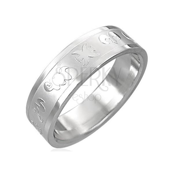 Inele din oțel inoxidabil - zodiac
