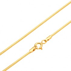 Lanț din aur - zale stil piele de șarpe, 450 mm